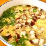 香菇鸡蛋汤