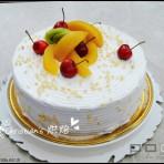 给朋友的生日蛋糕的做法
