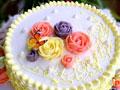 小清新裱花蛋糕的做法