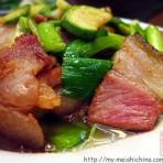 西葫芦炒熏肉