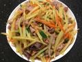 鸡杂炒土豆胡萝卜丝的做法