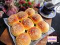 豆沙香酥粒面包的做法