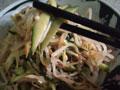 芝麻酱凉拌黄瓜豆芽菜的做法