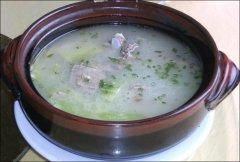 养生冬瓜排骨汤的做法最正确的做法