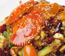【梭子蟹怎么洗】梭子蟹的做法大全_梭子蟹蒸多久才能熟