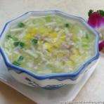 韭黄玉米蛋羹的做法