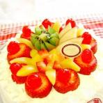 奶水果蛋糕