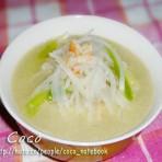 海米萝卜丝汤的做法