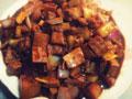 笋丁豆干肉酱的做法