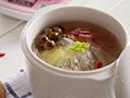 萝卜菌菇汤的做法