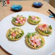 饺子皮蔬菜沙拉的做法
