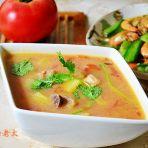 鸡丁杂蔬浓汤的做法