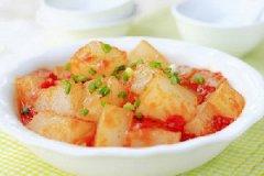 西红柿炒凉粉的做法