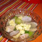 鲜蛤丝瓜汤