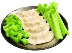 猪肉芹菜饺子馅的做法图解