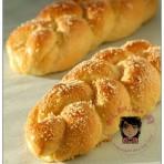 香橙辫子面包的做法