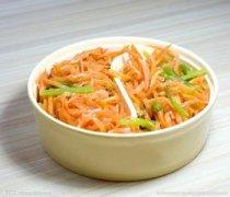 【炒胡萝卜丝的做法】炒胡萝卜丝怎么做好吃_炒胡萝卜丝的营养价值