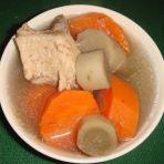 胡萝卜牛蒡汤的做法