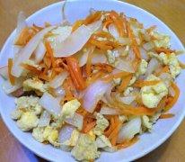 【洋葱胡萝卜炒鸡蛋】洋葱胡萝卜炒鸡蛋怎样做好吃_洋葱胡萝卜炒鸡蛋