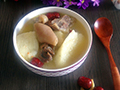 淮山药炖羊肉汤的做法