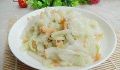 开洋白菜的做法视频