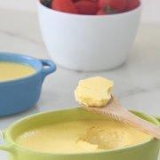 浓香乳酪布丁的做法