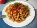 番茄肉酱炒意粉的做法