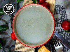 芋头黑芝麻糯米浆