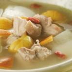 栗子冬瓜鸡肉汤的做法