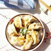 白菜虾仁水饺的做法