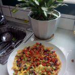 彩色鸡蛋饼的做法