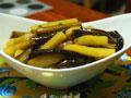 家常红烧土豆茄条(少油版)的做法