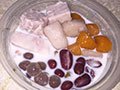 芋圆红豆牛奶的做法
