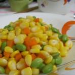 素炒玉米三丁