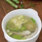 鲜蘑丝瓜蛋汤的做法