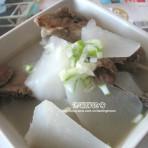 大骨棒萝卜汤的做法
