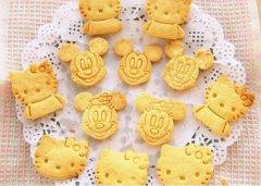 黄油饼干的做法视频