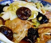 【白菜炒面筋】白菜炒面筋营养价值_白菜炒面筋的做法