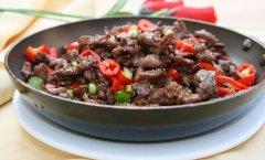 平锅牛肉的做法视频