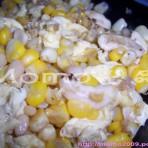 果仁玉米炒蛋