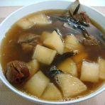 菜干萝卜猪骨汤的做法