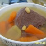 黄豆牛肉汤的做法