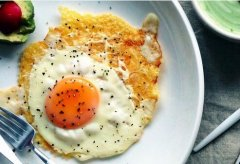 奶酪煎蛋的做法视频