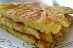 土豆丝鸡蛋饼的做法大全