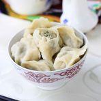 沙葱羊肉饺子