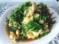 蛋烧韭菜的做法