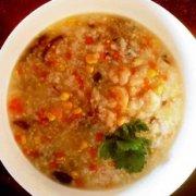 鲜香蔬菜海鲜粥的做法