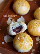 自制红豆酥