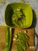 青椒木耳的做法