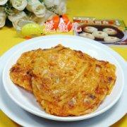 鸡蛋泡菜土豆丝饼的做法